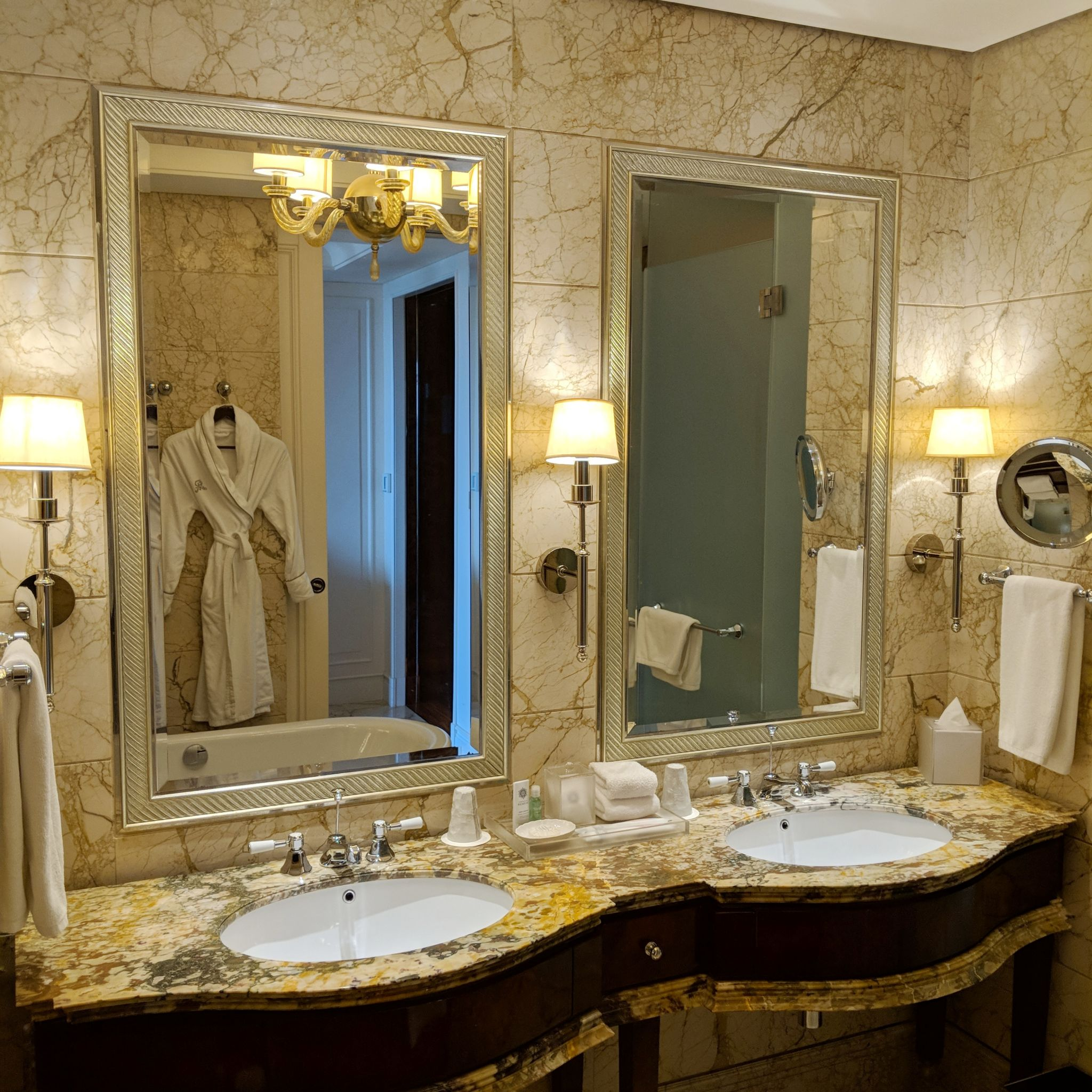 the st. regis singapore grand deluxe room bathroom vanity