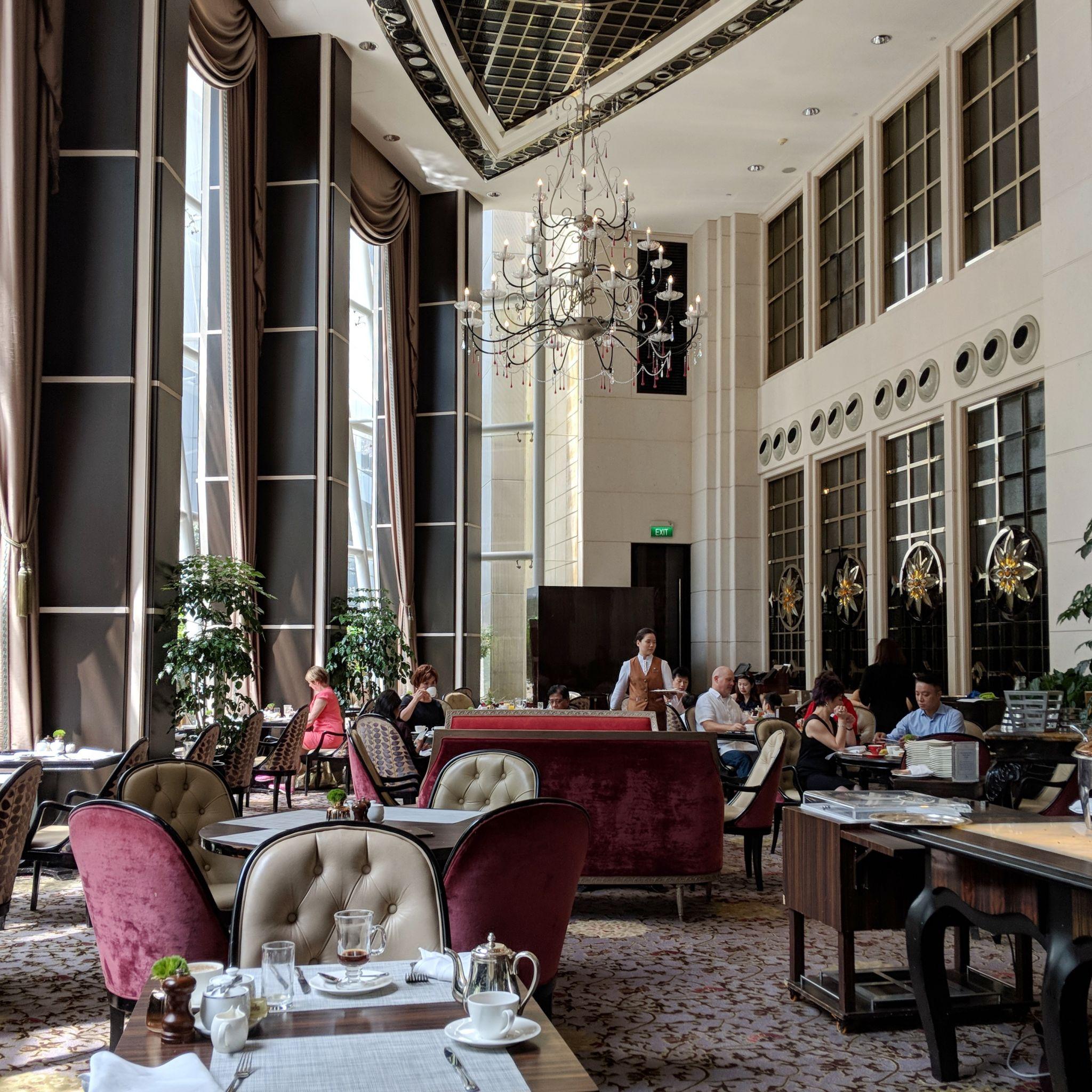 the st. regis singapore brasserie les saveurs