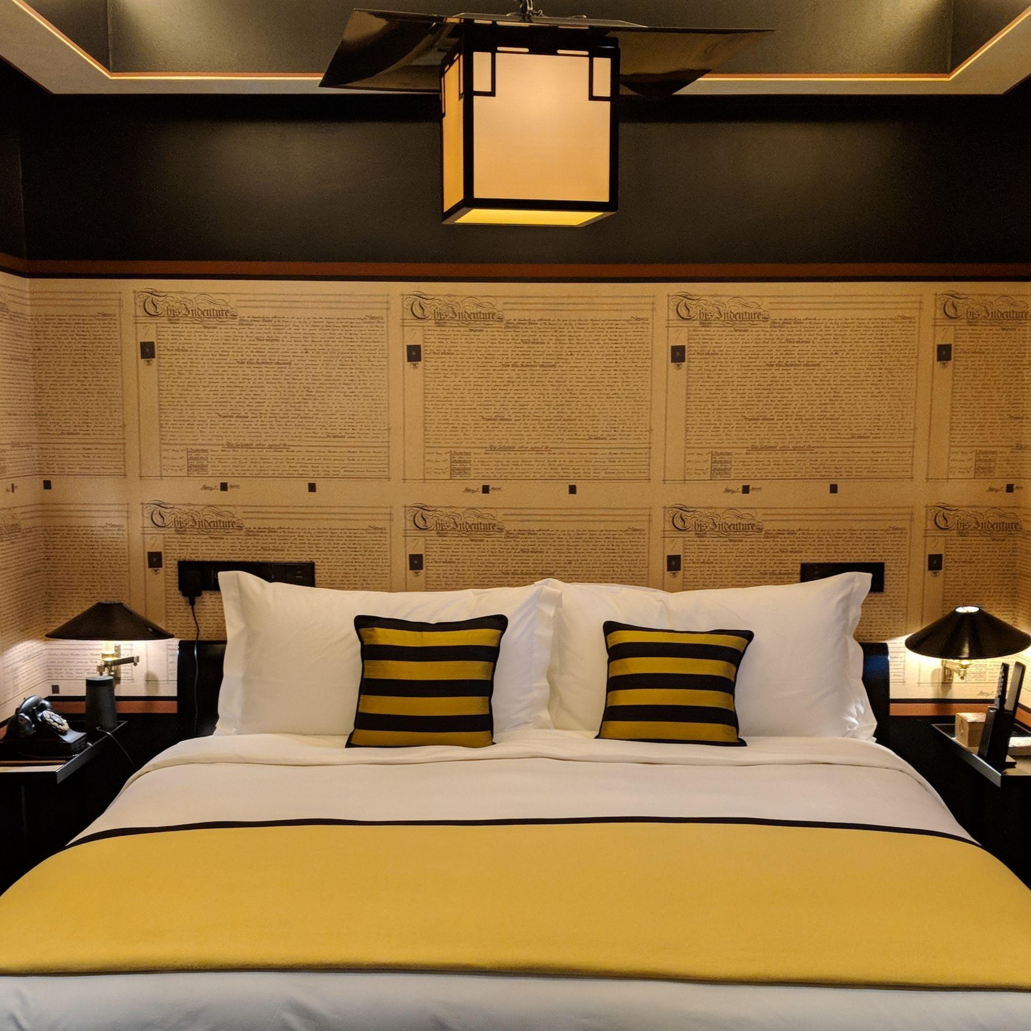 six senses duxton bedroom