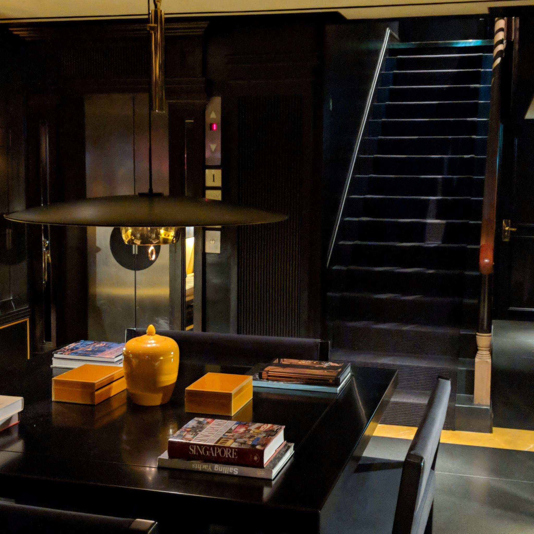 six senses duxton lobby