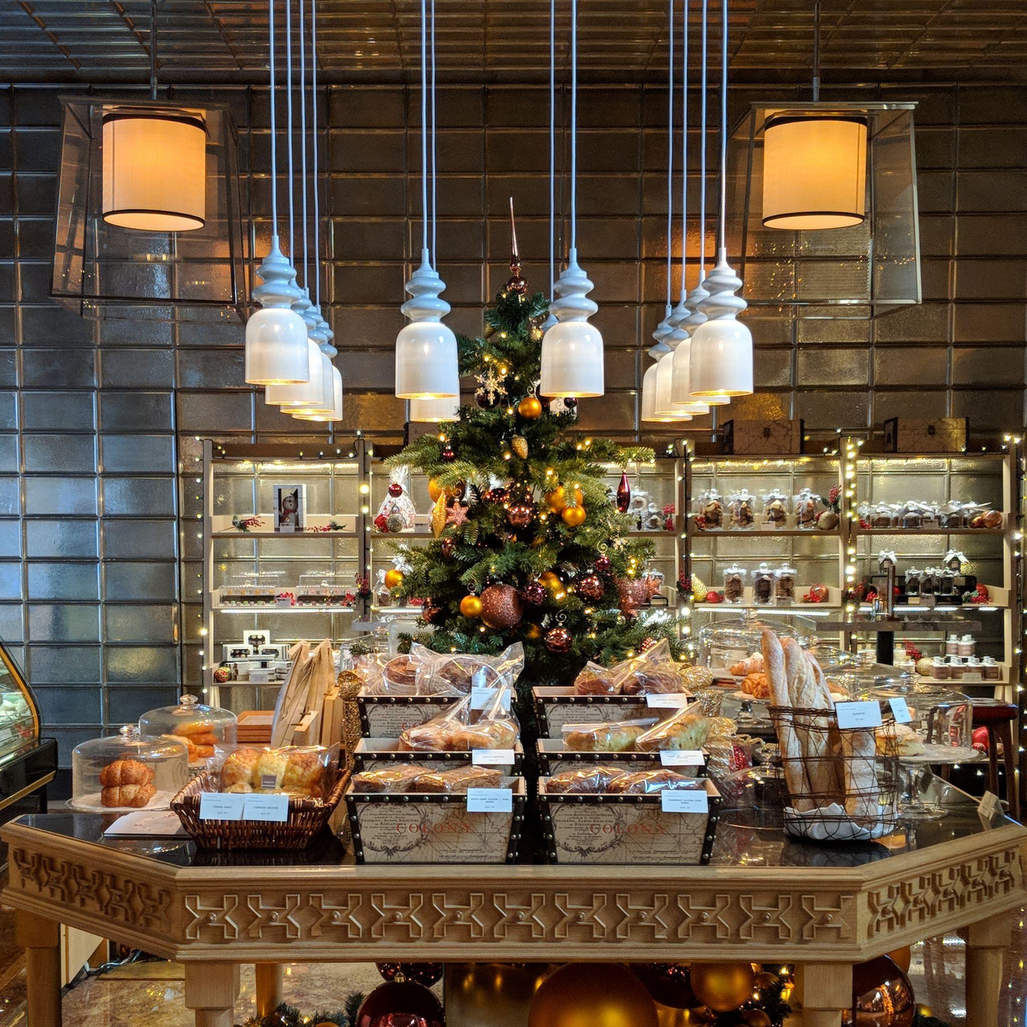 the ritz-carlton, millenia singapore colony bakery