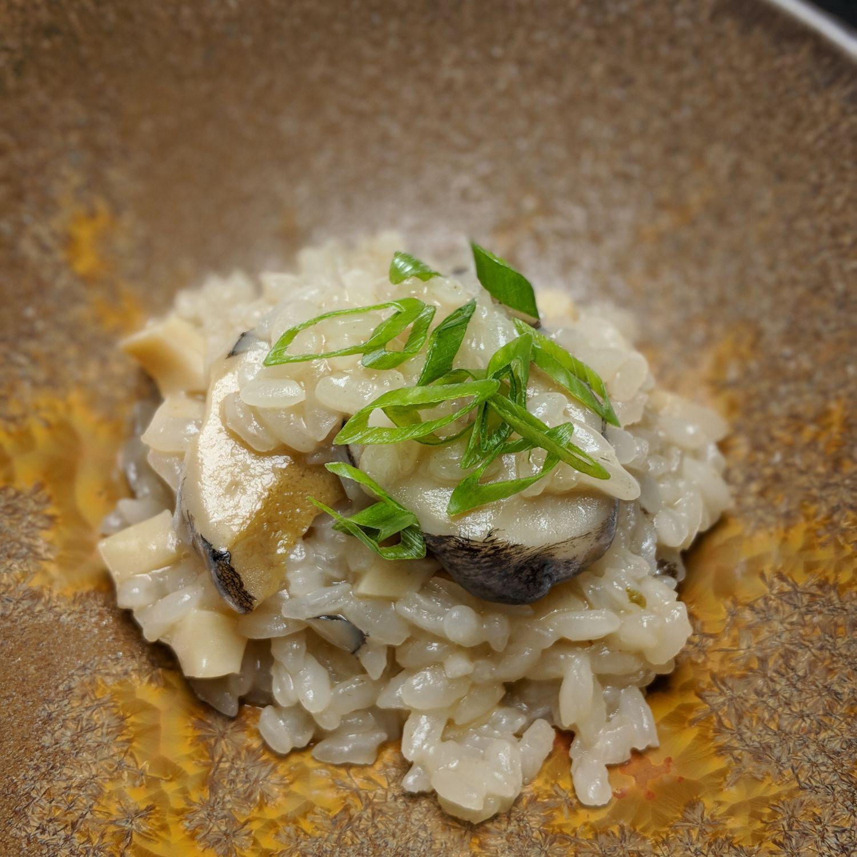 rizu abalone risotto