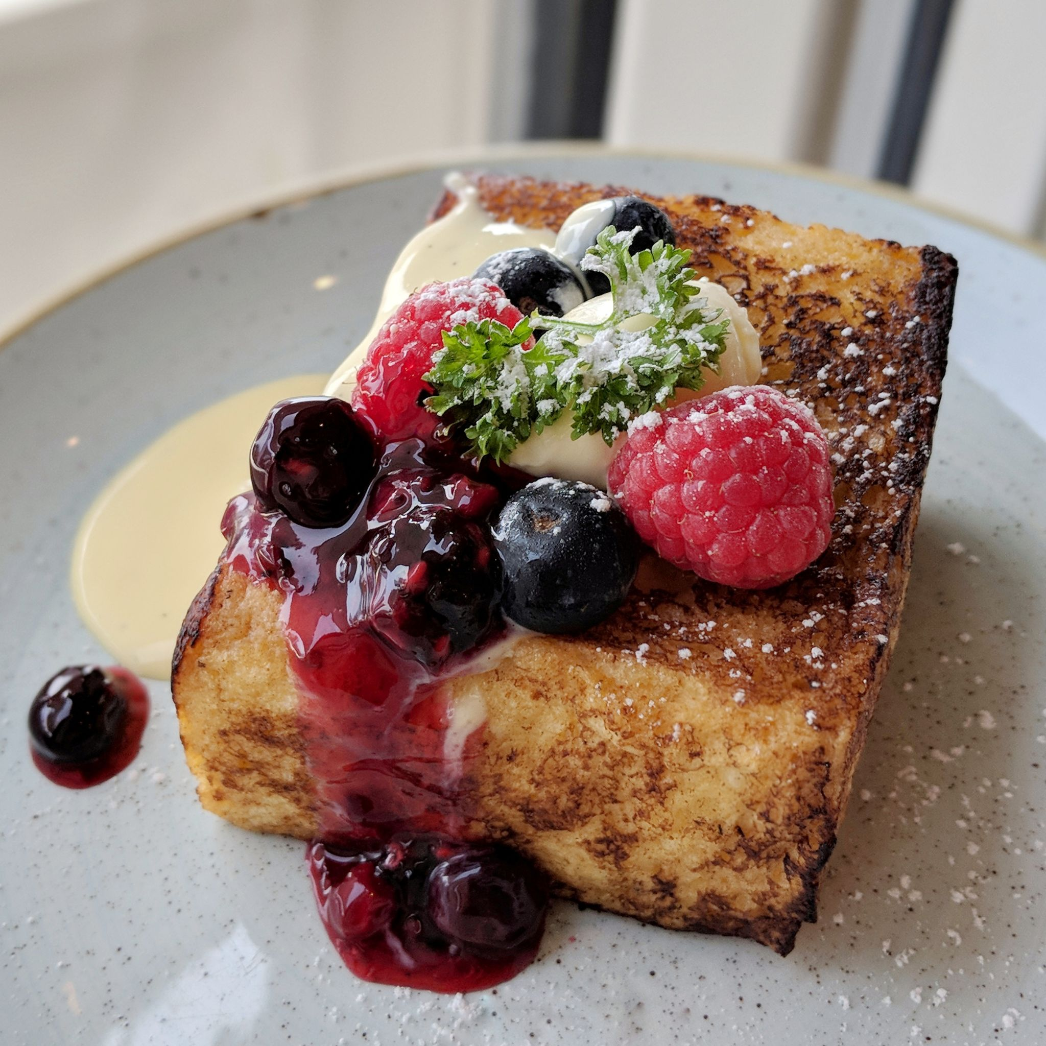 pan pacific singapore pacific club lounge breakfast french toast