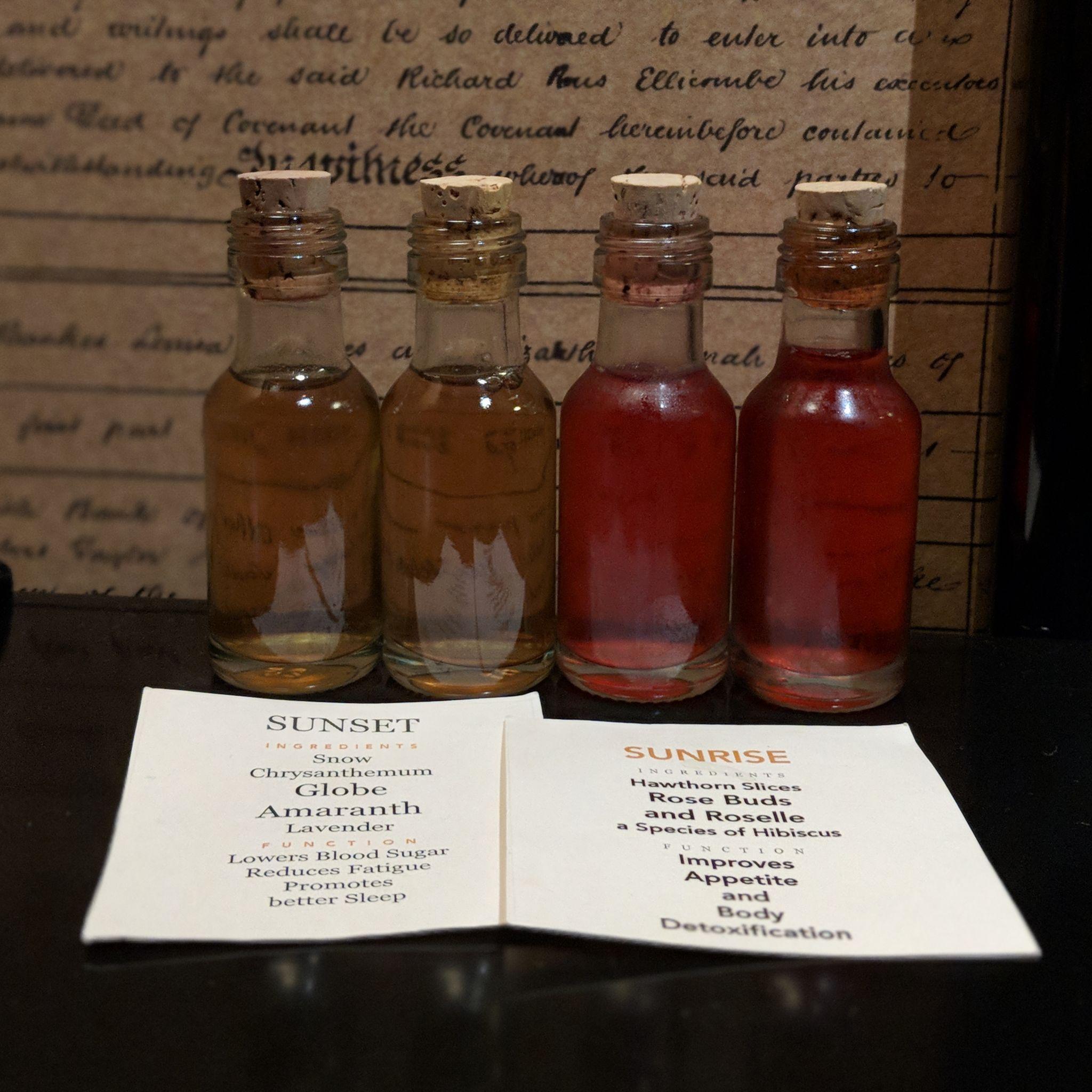 six senses duxton opium suite tinctures
