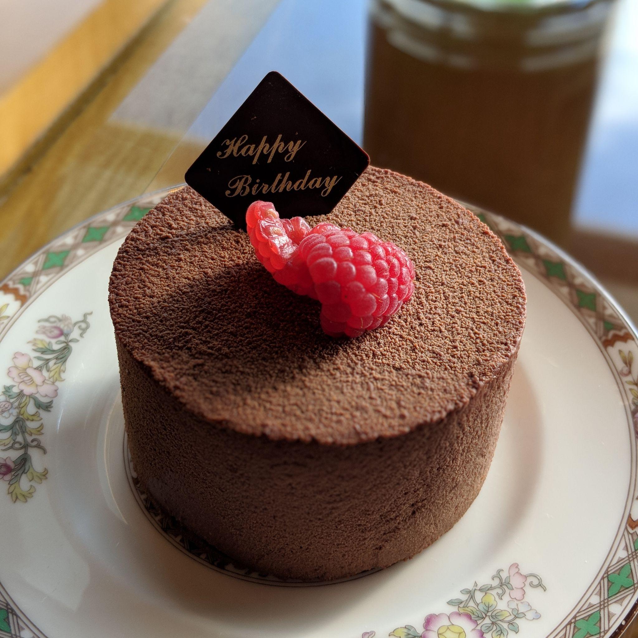 the ritz-carlton, millenia singapore one-bedroom millenia suite birthday cake