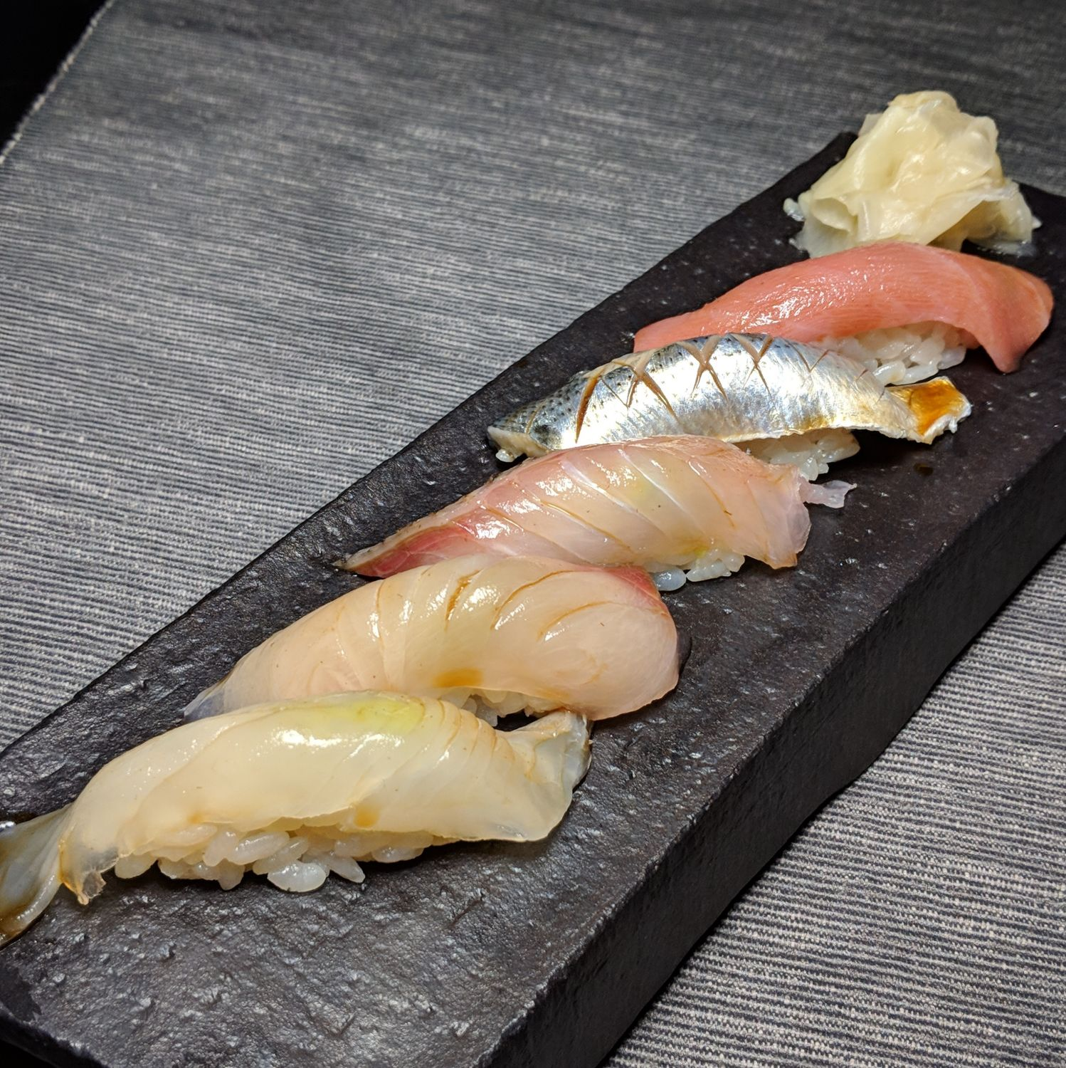 rizu assorted nigiri sushi