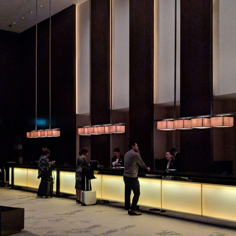 conrad tokyo lobby