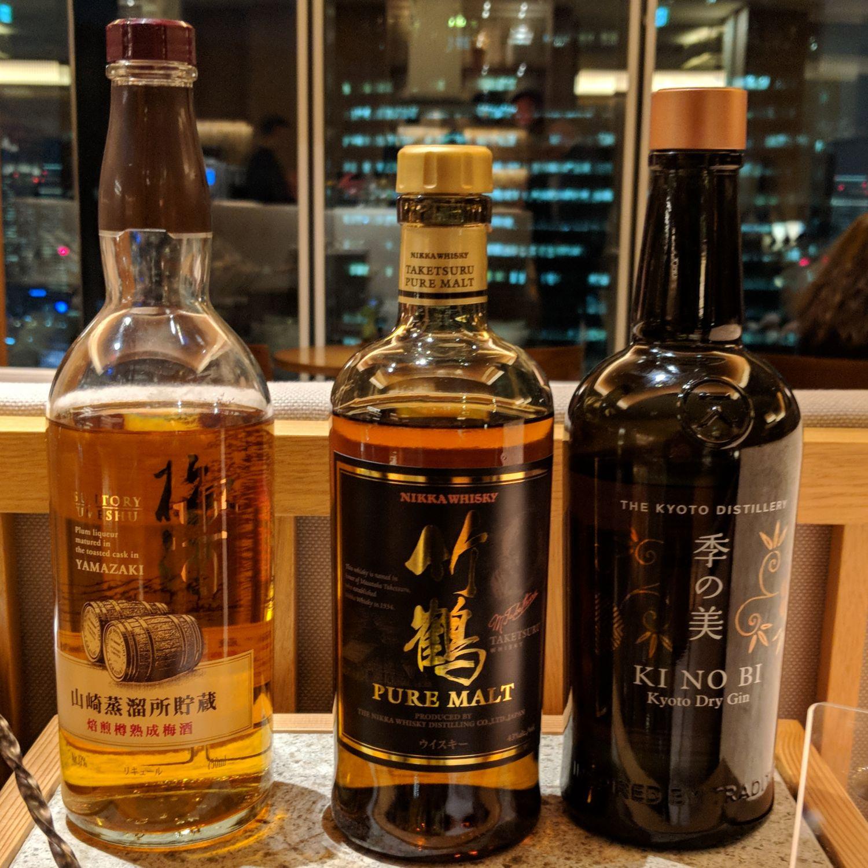 conrad tokyo executive lounge alcohol spirits