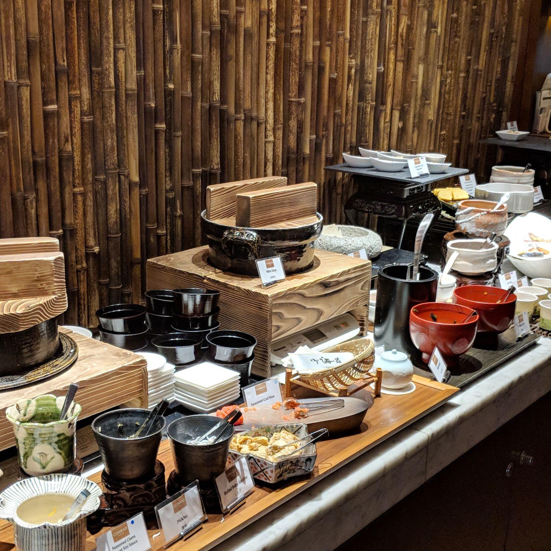 conrad tokyo collage breakfast