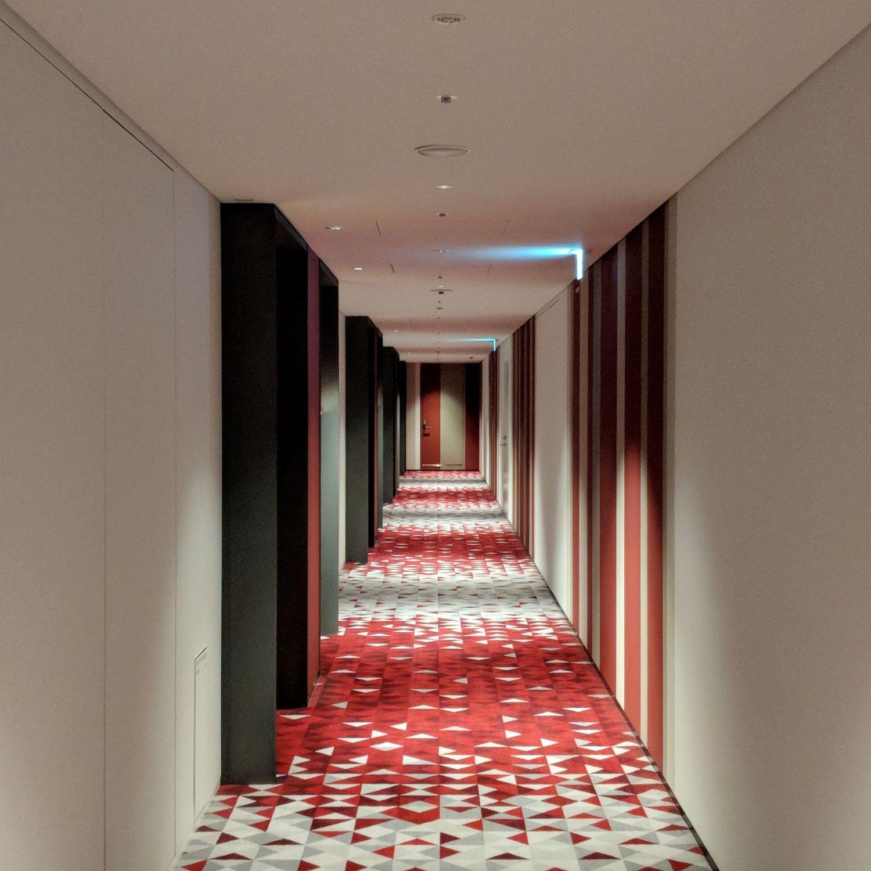 hyatt centric ginza tokyo hallway