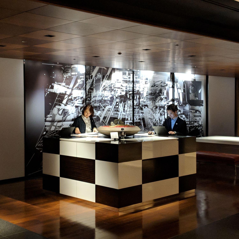 hyatt centric ginza tokyo lobby