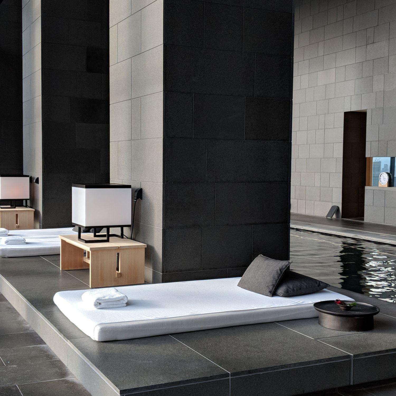 aman tokyo indoor swimming pool