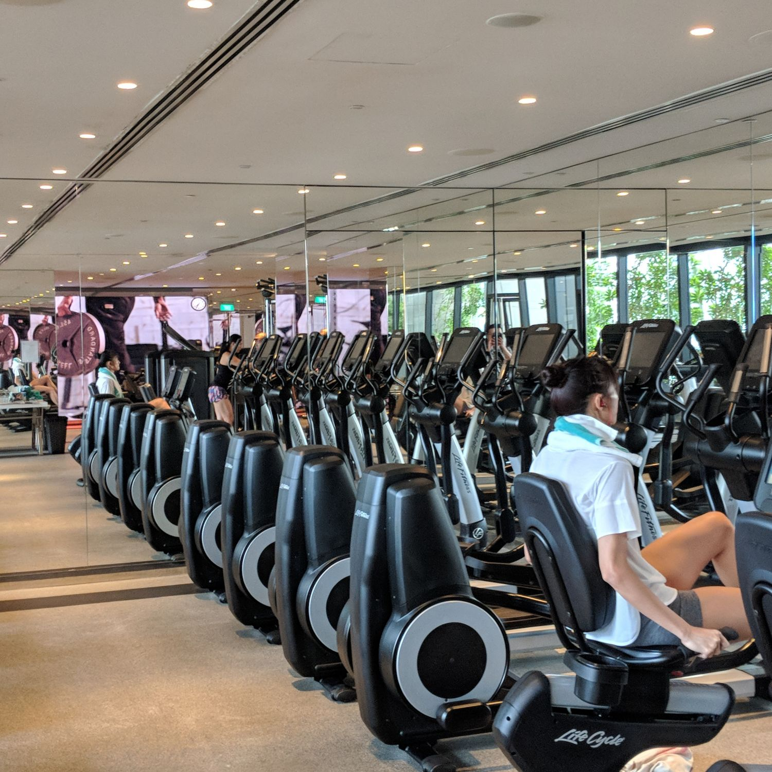 jw marriott singapore south beach fitness centre