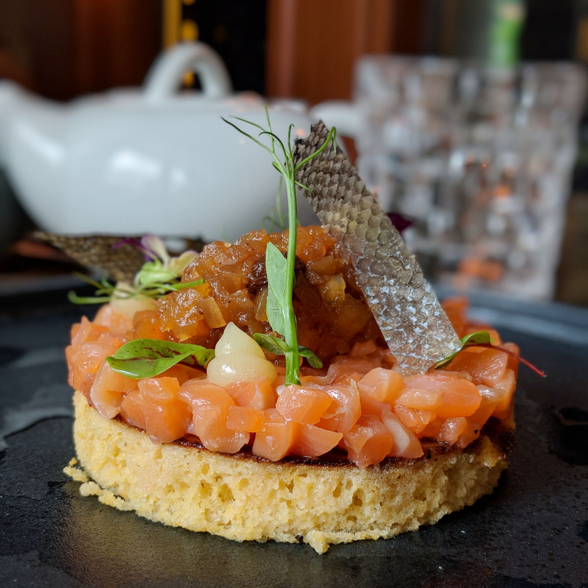 six senses maxwell murray terrace brasserie breakfast citrus cured king ora salmon