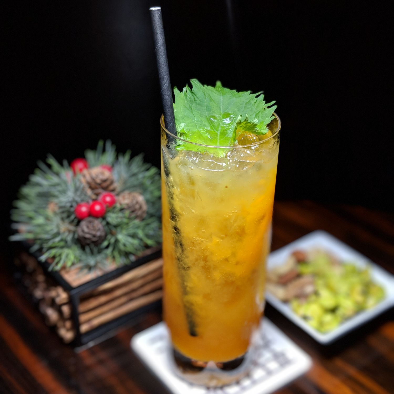 conrad tokyo twentyeight persimmon sake cocktail
