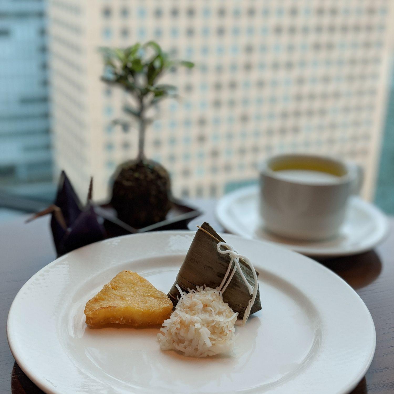 conrad tokyo executive lounge breakfast