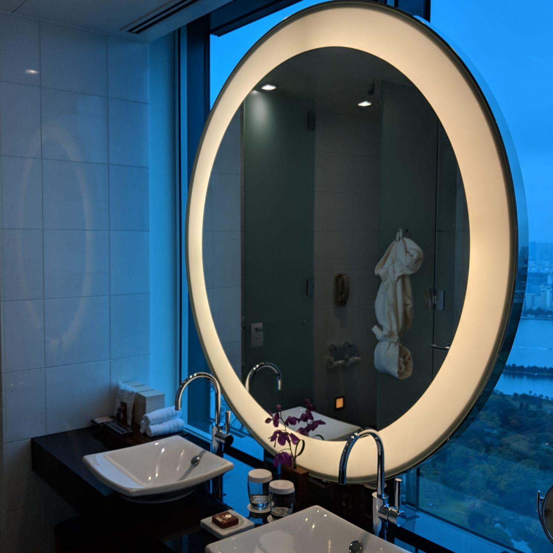conrad tokyo bathroom vanity