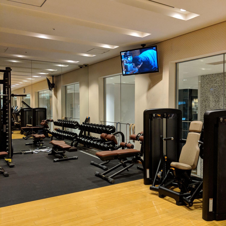 conrad tokyo gym