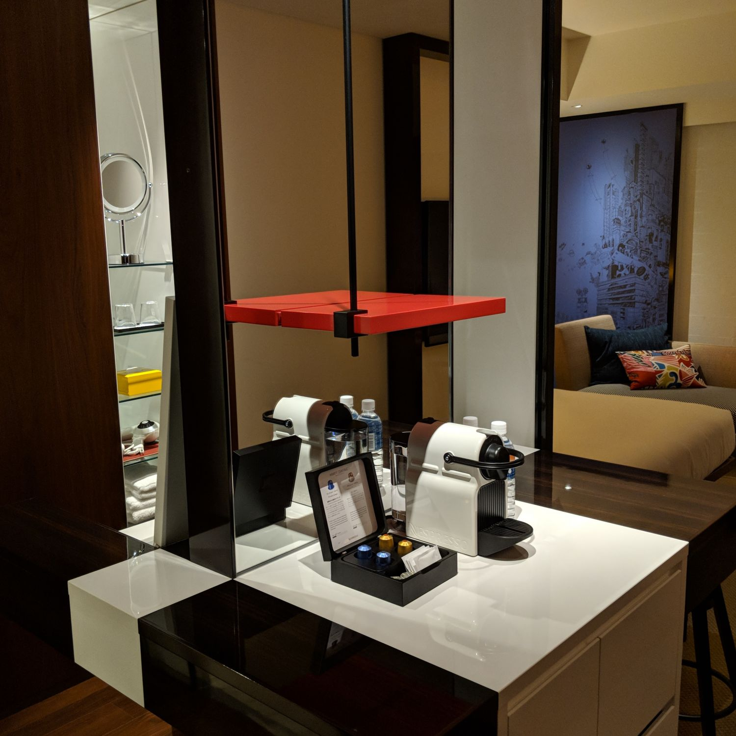 hyatt centric ginza tokyo king bed room central worktop