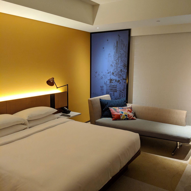 hyatt centric ginza tokyo king bed room world of hyatt