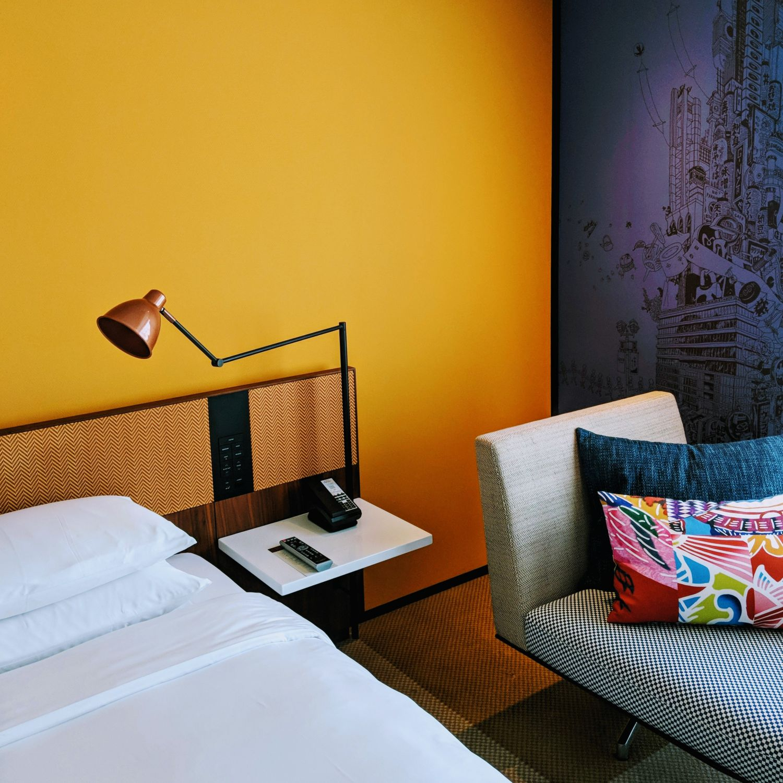hyatt centric ginza tokyo king bed room