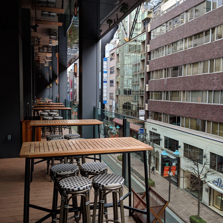 hyatt centric ginza tokyo NAMIKI667 outdoor balcony terrace