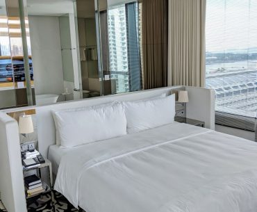 jw marriott singapore south beach executive suite with premier marina bay view bedroom