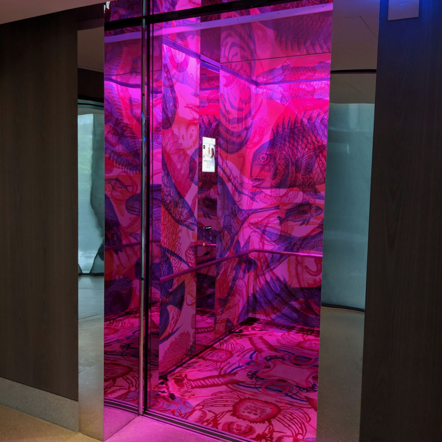 jw marriott singapore south beach elevator
