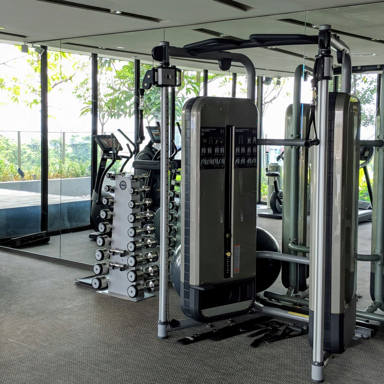 oakwood premier oue singapore the fitness center by oakwood