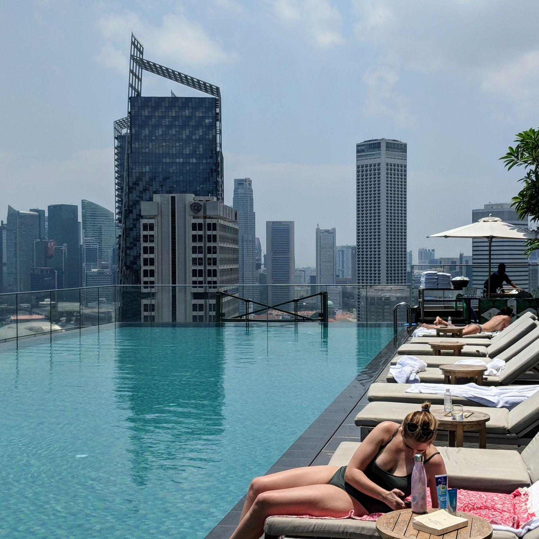 andaz singapore pool