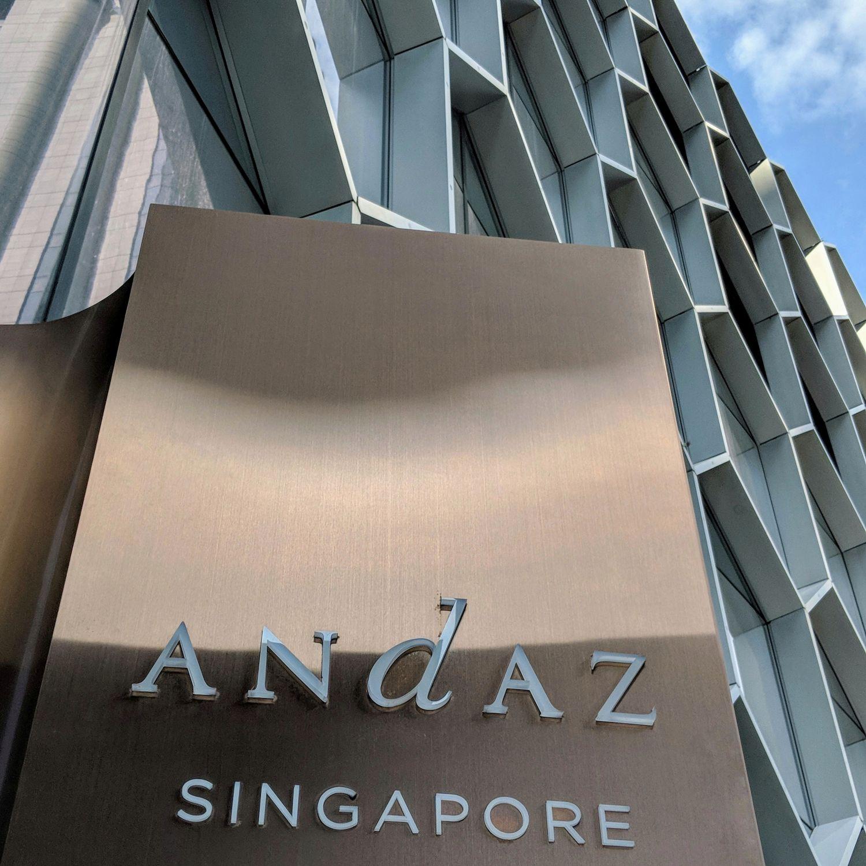 andaz singapore entrance