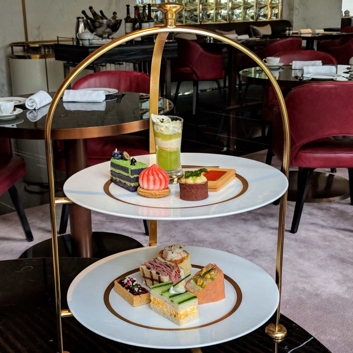 the murray hong kong garden lounge afternoon tea