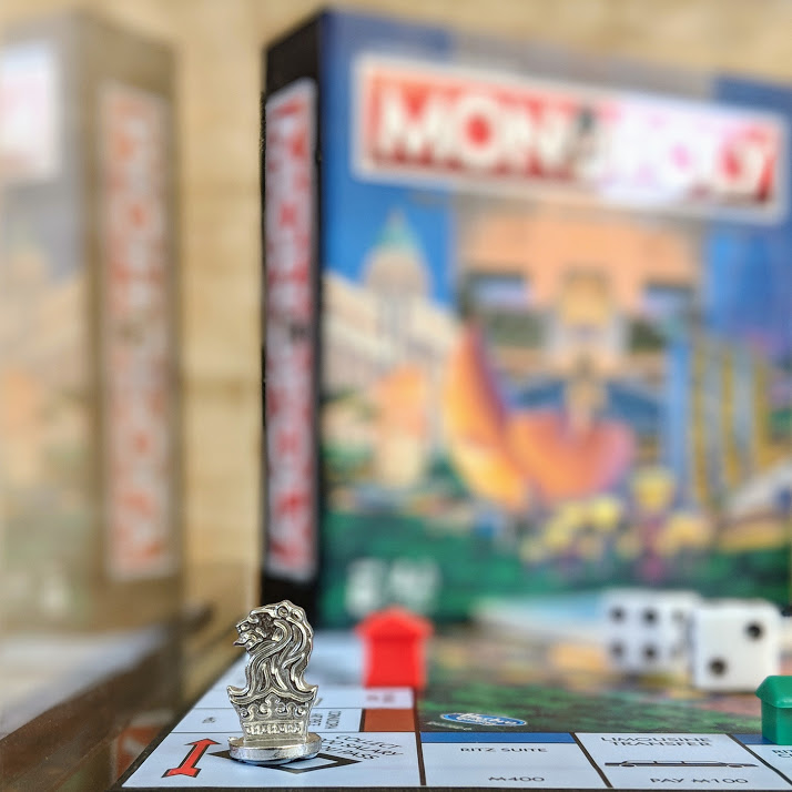 the ritz-carlton millenia singapore bespoke monopoly set