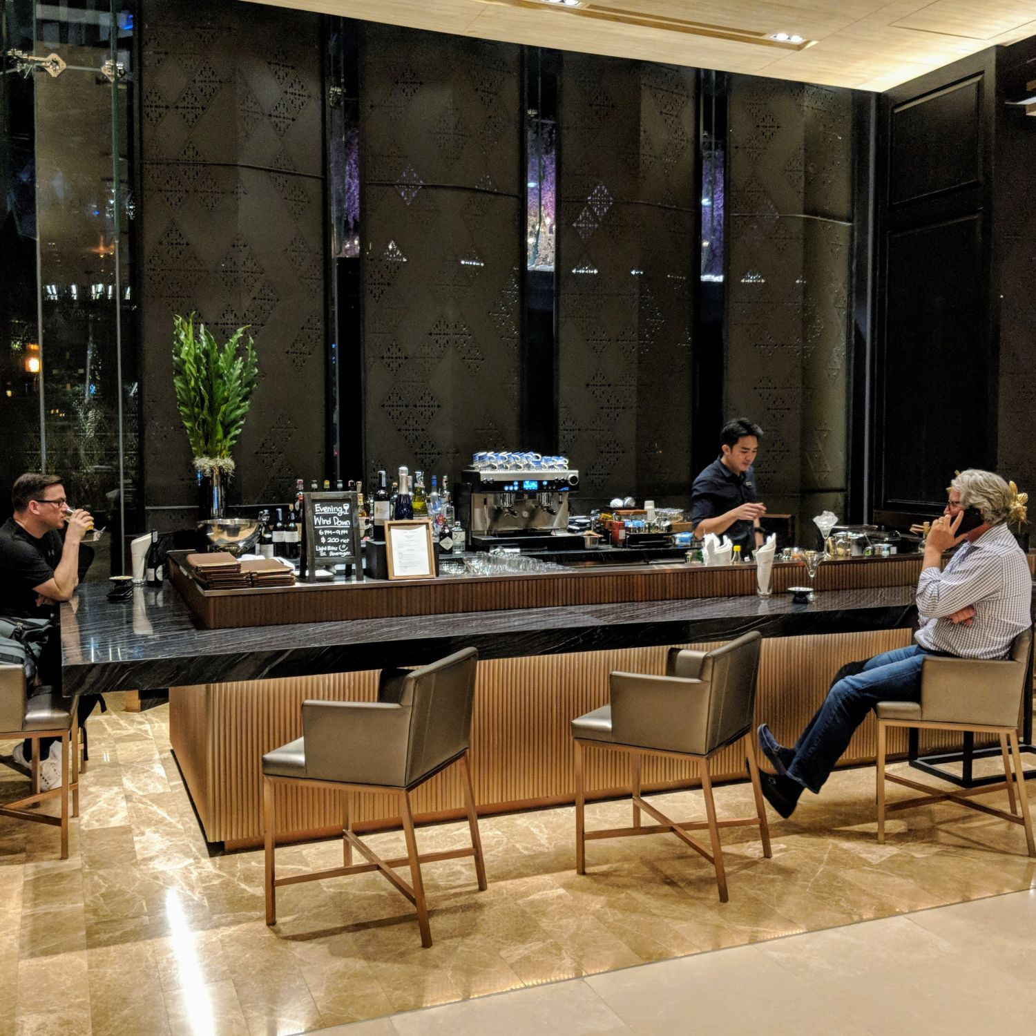 Hyatt Regency Bangkok Sukhumvit the lobby lounge