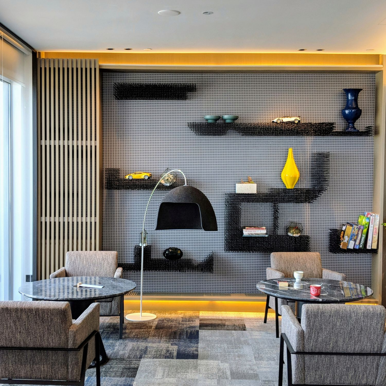 swissotel the stamford executive lounge the living room