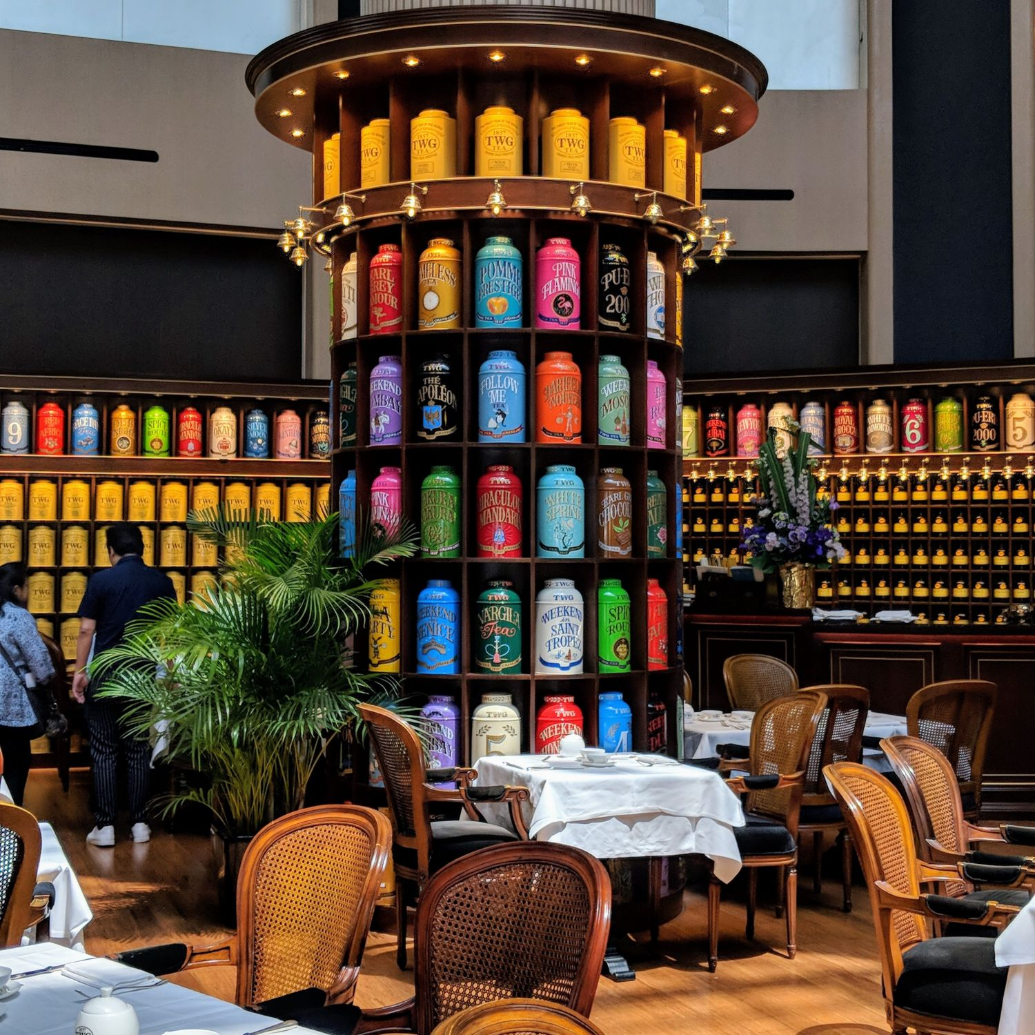 swissotel the stamford TWG Tea Salon Boutique