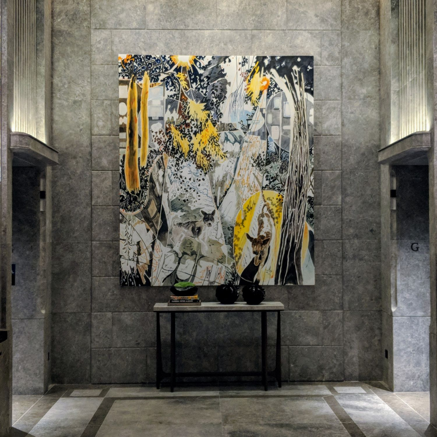 the st. regis hong kong ground lobby