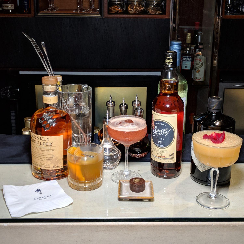 singapore cocktail festival 2019 bob's bar capella