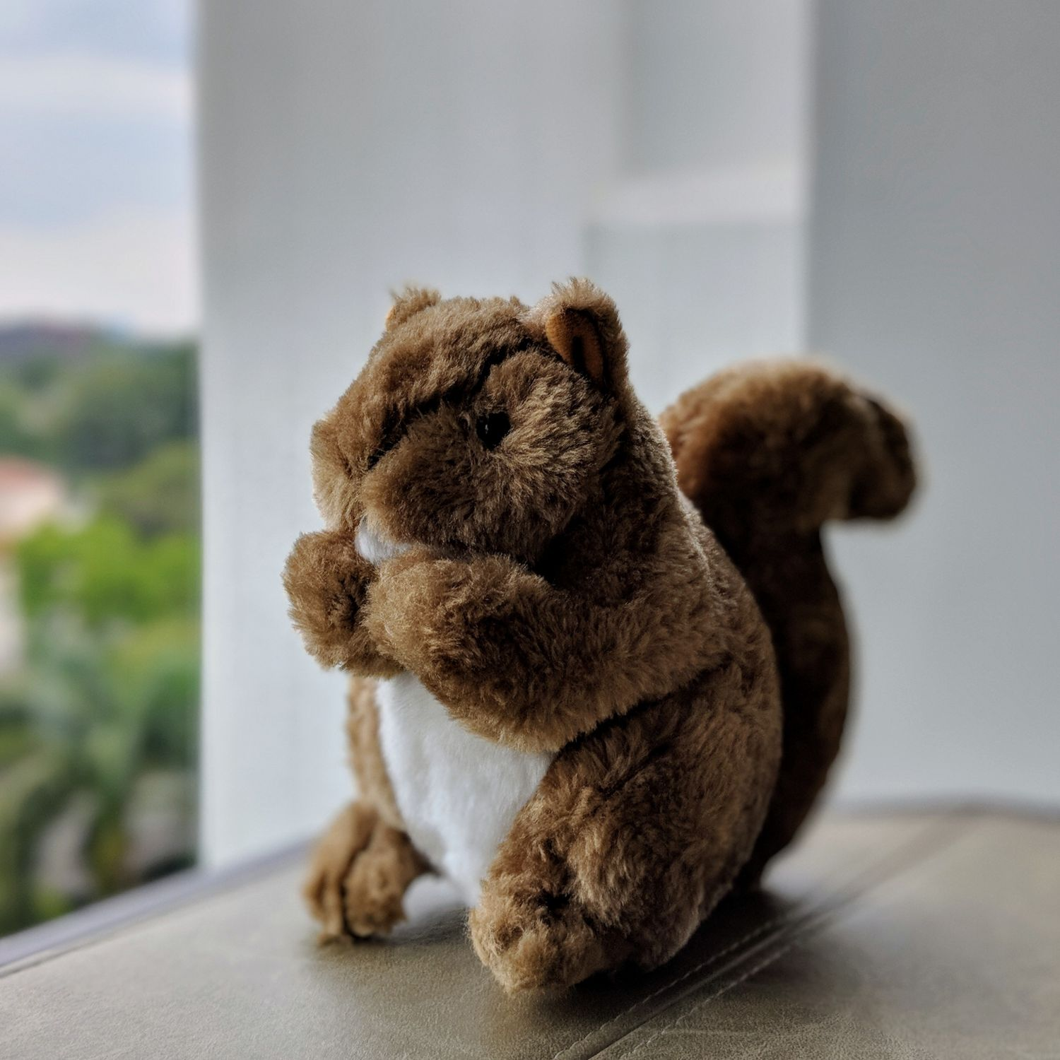 Shangri-La Hotel Singapore Squirrel Mascot