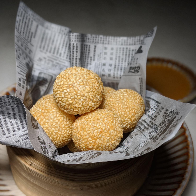 Rosewood Bangkok nan bei sesame balls