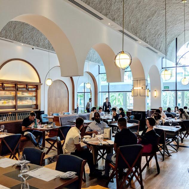 Shangri-La Hotel Singapore Origin Grill.