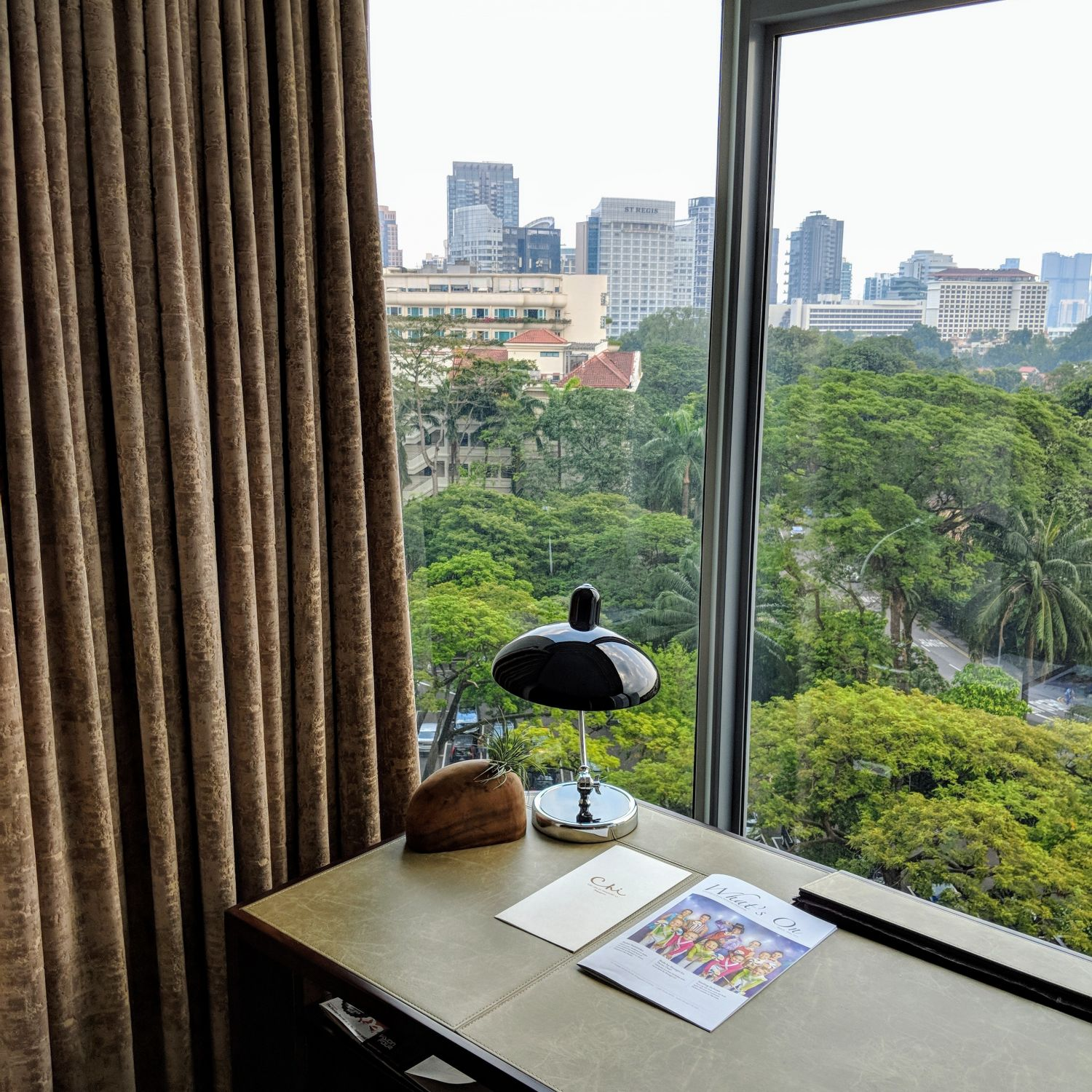 Shangri-La Hotel Singapore Horizon Club Junior Suite