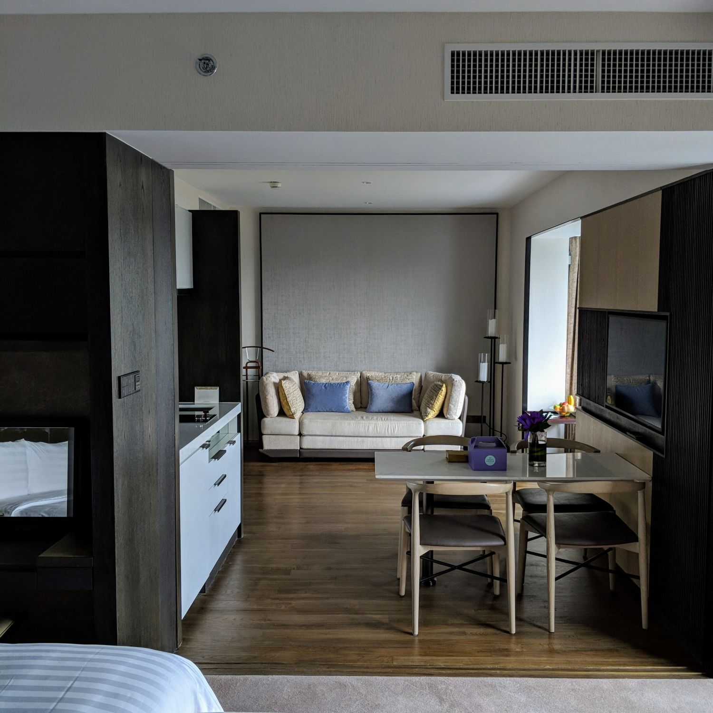 Shangri-La Hotel Singapore Horizon Club Junior Suite