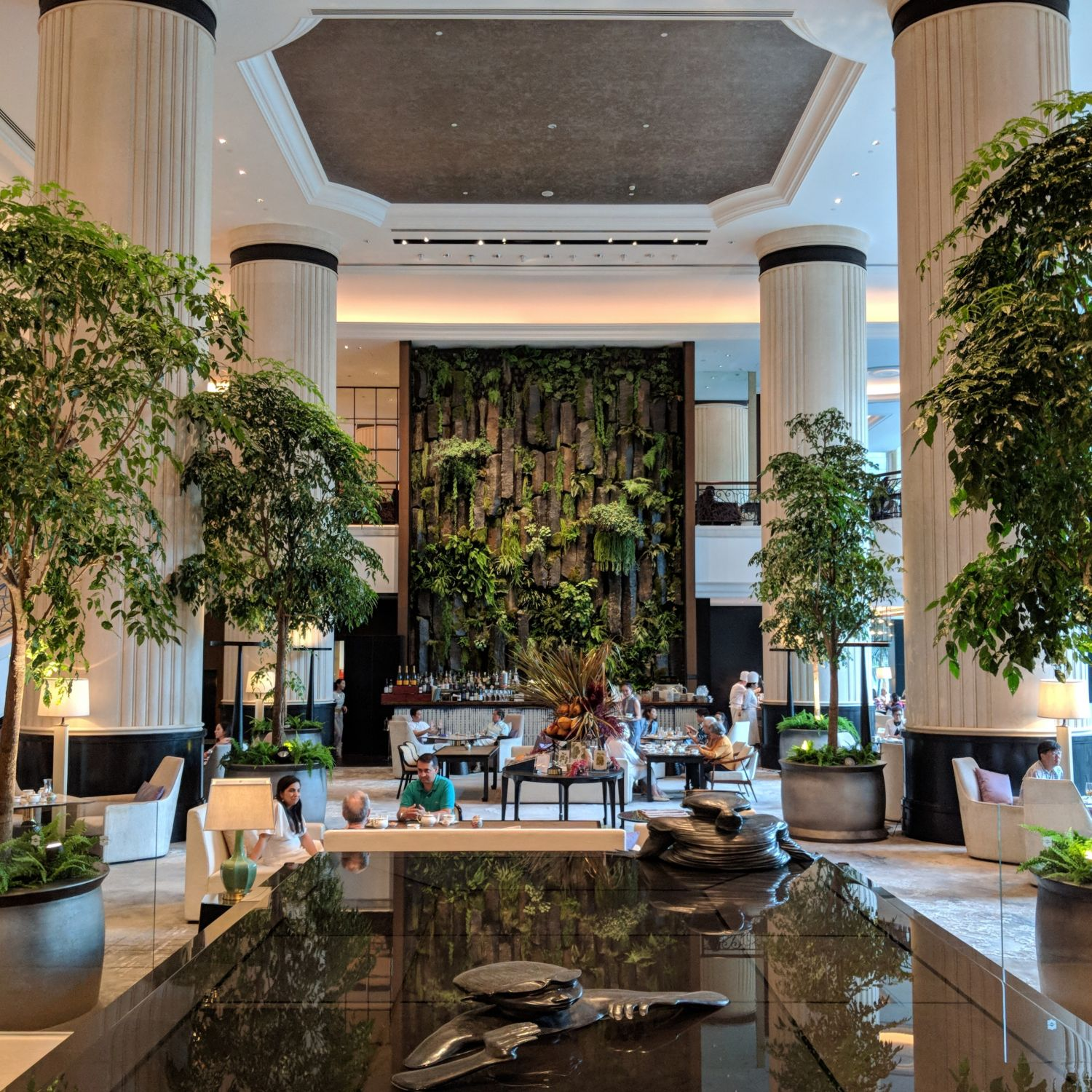 Shangri-La Hotel Singapore The Lobby Lounge