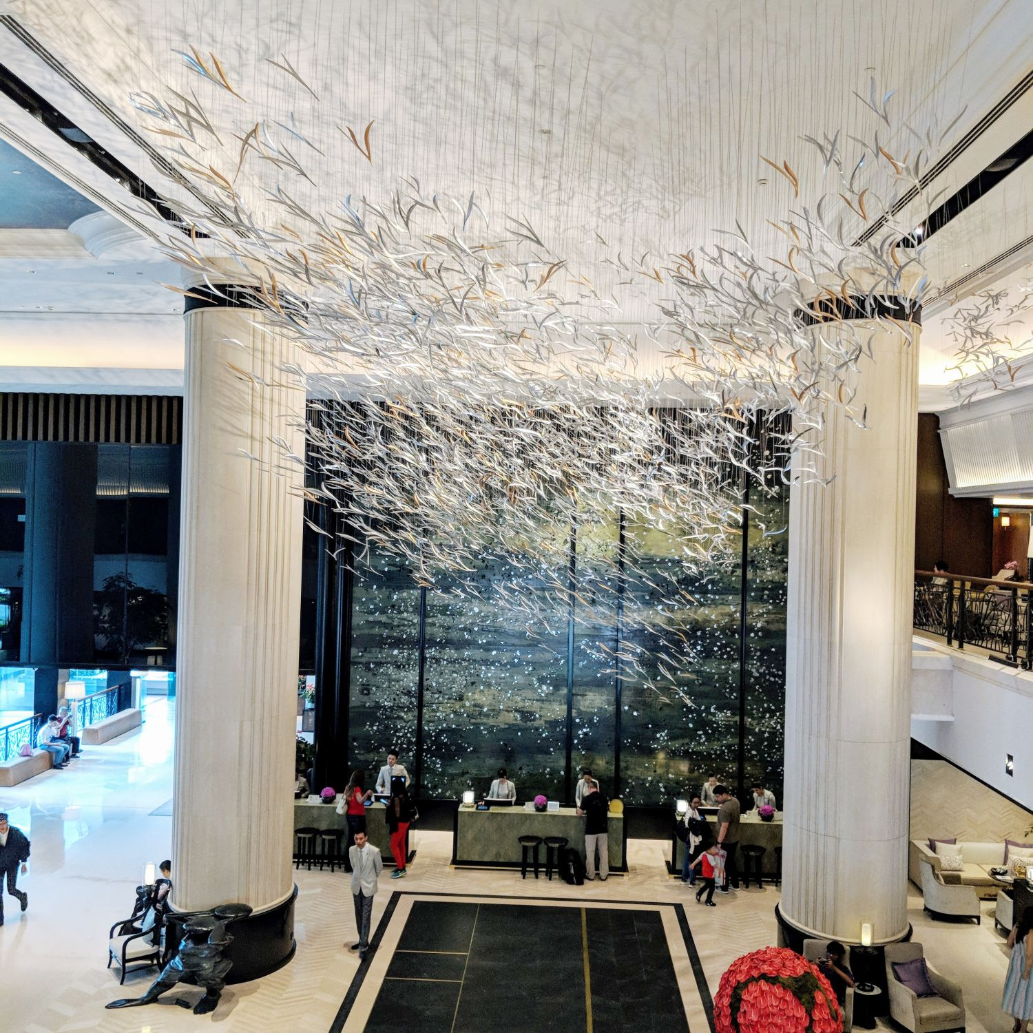 Shangri-La Hotel Singapore Tower Wing Lobby
