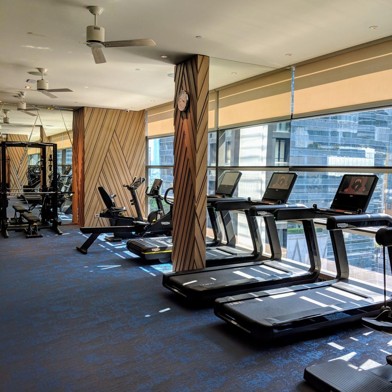 rosewood bangkok fitness centre
