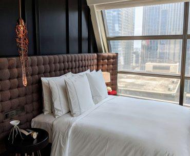 Rosewood Bangkok manor suite bedroom