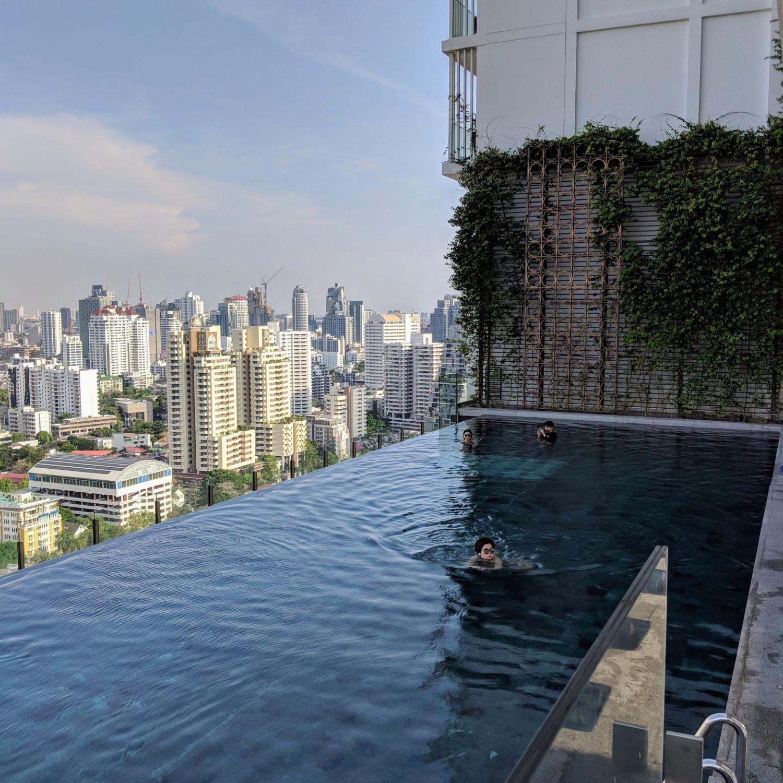 137 pillars hotel sukhumvit bangkok main pool