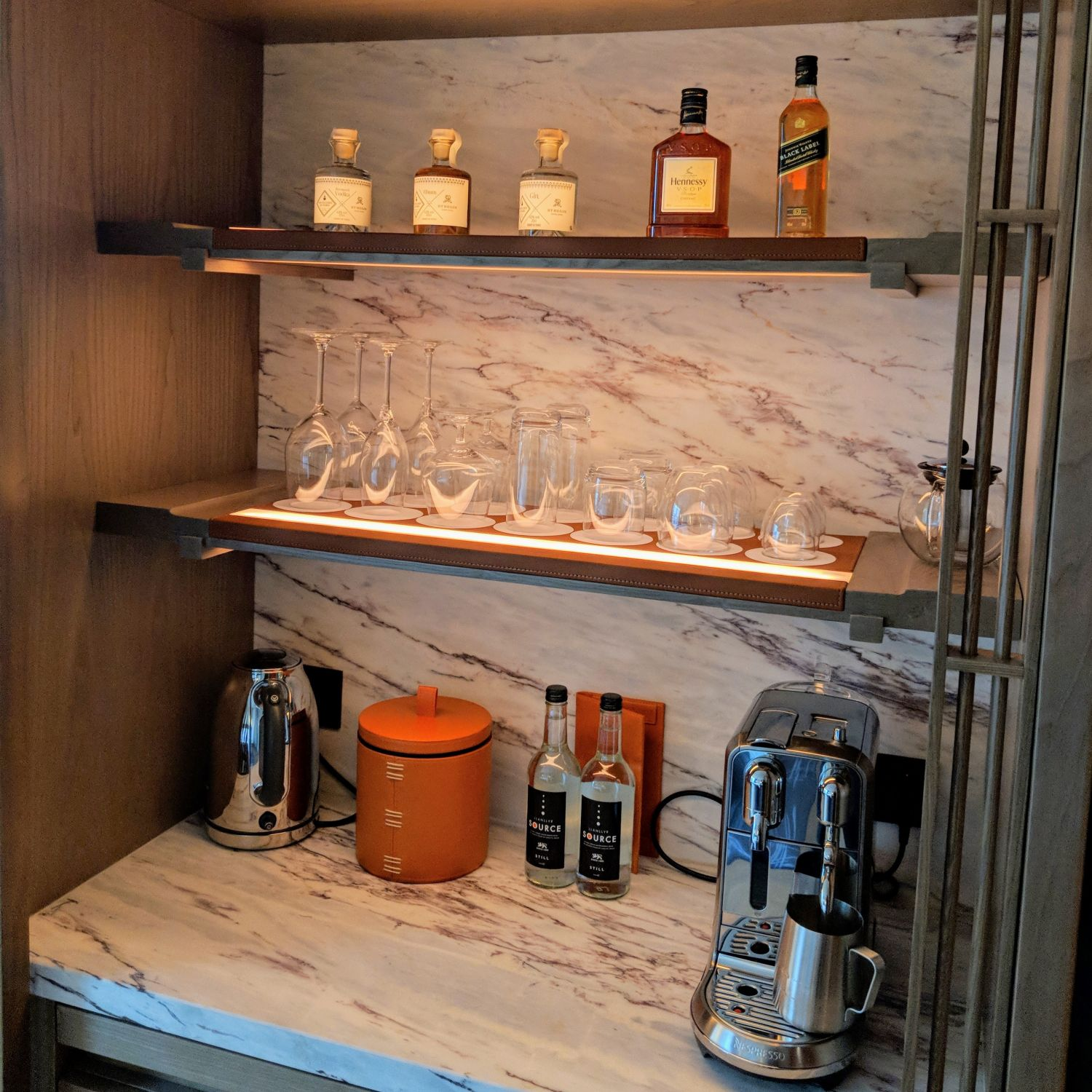 the st. regis hong kong grand deluxe room pantry