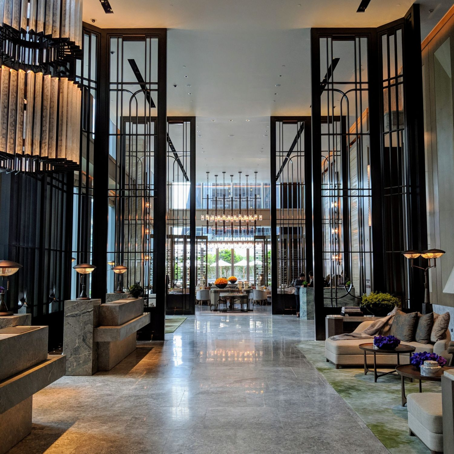 the st. regis hong kong lobby
